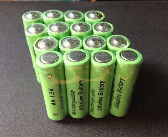 Rechargeable Alkaline Batteries >> 16pcs Lot 3600mah 1 5v Aa Rechargeable Alkaline Battery Cell 14500