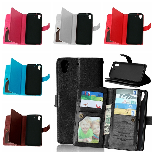 Genuine original leather Mobile Phone Case For HTC Desire 626 626G 626S 626G+ Filp Wallet Cover Cases With Card Slot