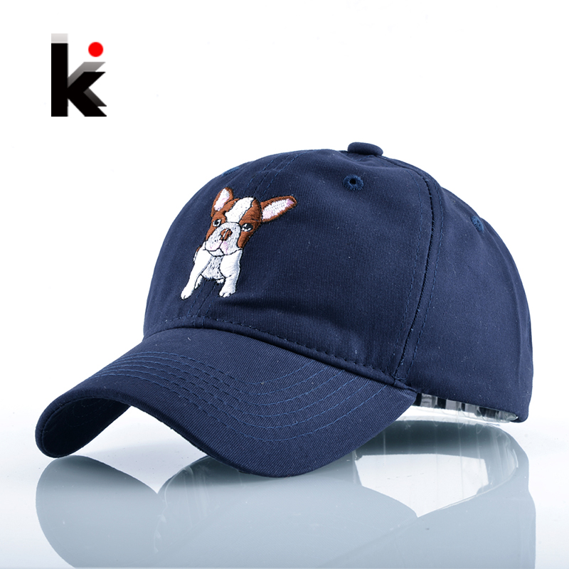 2018 Fashion Fashion Casual Sun Hat Hockeys Casquette For Men Cute Dog Snapback Բեյսբոլ գլխարկ կանանց համար Unisex Drake Gorra Bone Masculino