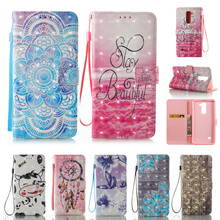 hot deal buy for lg stylus 2 stylo2 lg ls775 case 3d effect wallet flip leather case cover for lg stylus2 stylo 2 lg ls775 phone shell cover