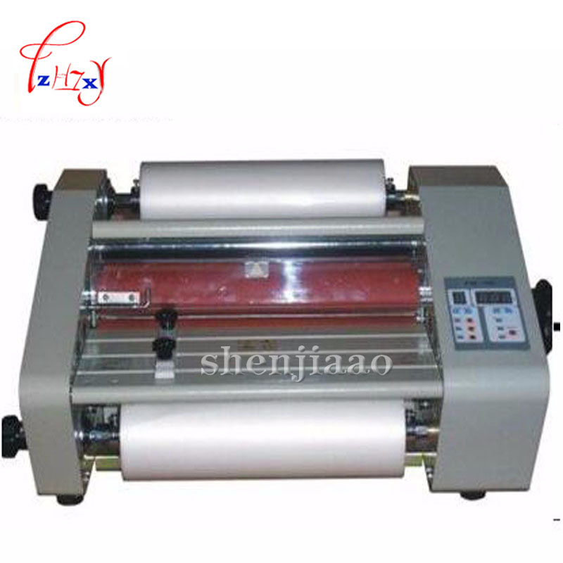FM360 110v/220v A3 paper laminating machine Four Rollers laminator worker card,office file laminator fm 380 paper laminating machine students card worker card office file laminator steel roll laminating machine