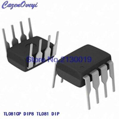 10pcs/lot TL081CP TL081 DIP-8 In Stock