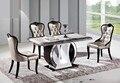 Современная мода обеденный стол, мраморная столешница обеденный стол