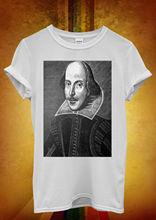 Hamlet William Shakespeare Novelty Men Women Unisex T Shirt  Vest 27 New Shirts Funny Tops Tee