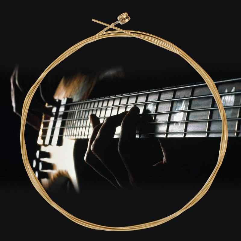 1 PC Perunggu Fosfor Gitar Tali untuk 41 Inches Folk Akustik Gitar Bagian Aksesoris Alat Musik