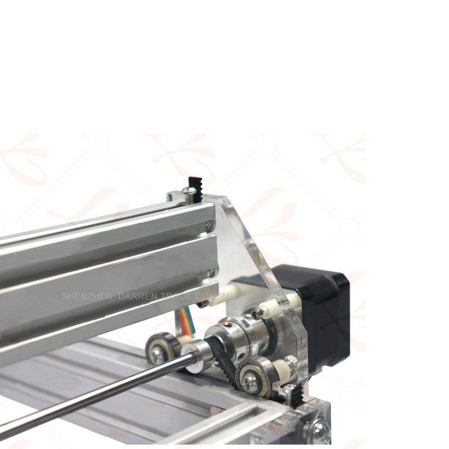 1 шт. 1,5 Вт DIY мини лазерная гравировальная машина 1500 МВт Настольный DIY Лазерный гравер гравировальный станок изображение CNC принтер - 4