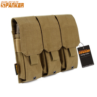 EXCELLENT ELITE SPANKER Tactical Outdoor Nylon Molle M4 Magazine Pouch Hunting Training Magazine Holster Military Vest