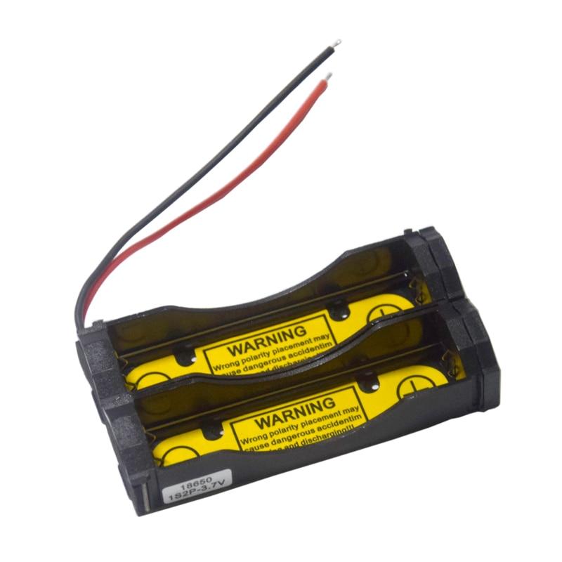 1Pcs Charging Discharging Control Battery Holder Case for Li-ion 3.6V 3.7V 18650 17670 Cell 1S2P PCM battery charging slot