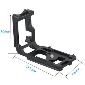 Image 2 - Vertical Shoot Quick Release Qr L Plate Bracket Hand Grip For Canon Eos 5D Mark Iii Iv 3 4 Dslr Camera Tripod