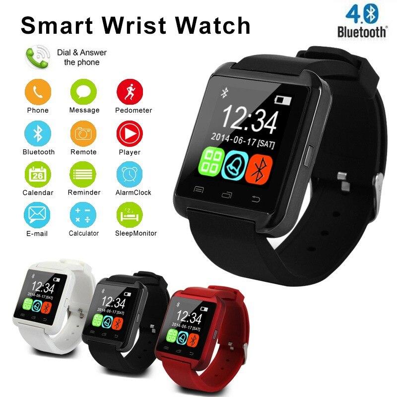New U8 Bluetooth Smart Watch Men Sport Electronics Pedometer Phone Call Smartwatch Women Watches For Android relogio inteligente