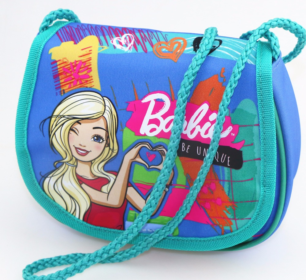 CUTE PRIMARY SCHOOL GIRLS CARTOON SADDLE SHOULDER BAG COTTON STRING BACK TO SCHOOL