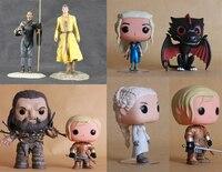 TV Series Brienne Daenerys Targaryen Wun Wun Vinyl Figure Martell Grey Worm Statue Game of Thrones Dark Horse Model Toys