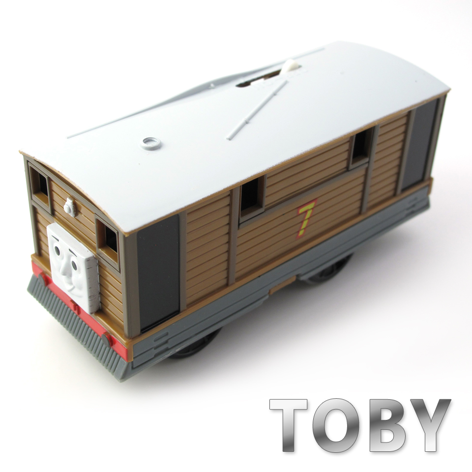 Electric Thomas Train T134E TOBY Thomas And Friends Trackmaster Magnetic Tomas Truck Car Locomotive Engine Railway Toys for Boys
