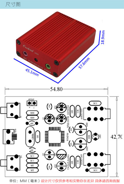 Online Shop PCM2706 USB DAC Sound card e amplifier board Supports ...