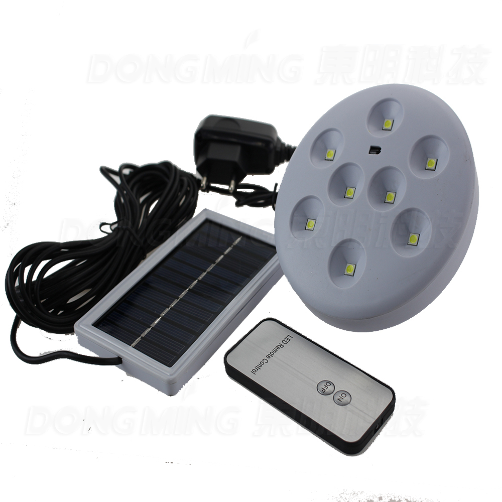 Outdoor Led Light With Remote: Solar Panel Powered LED Light,remote Control,can Be