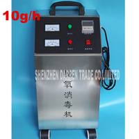 10g/h Cabinet type Ozone Generator Ozonizer Oil Meat Fruit Vegetable Sterilizer Fresh Air Purifiers purified water, air