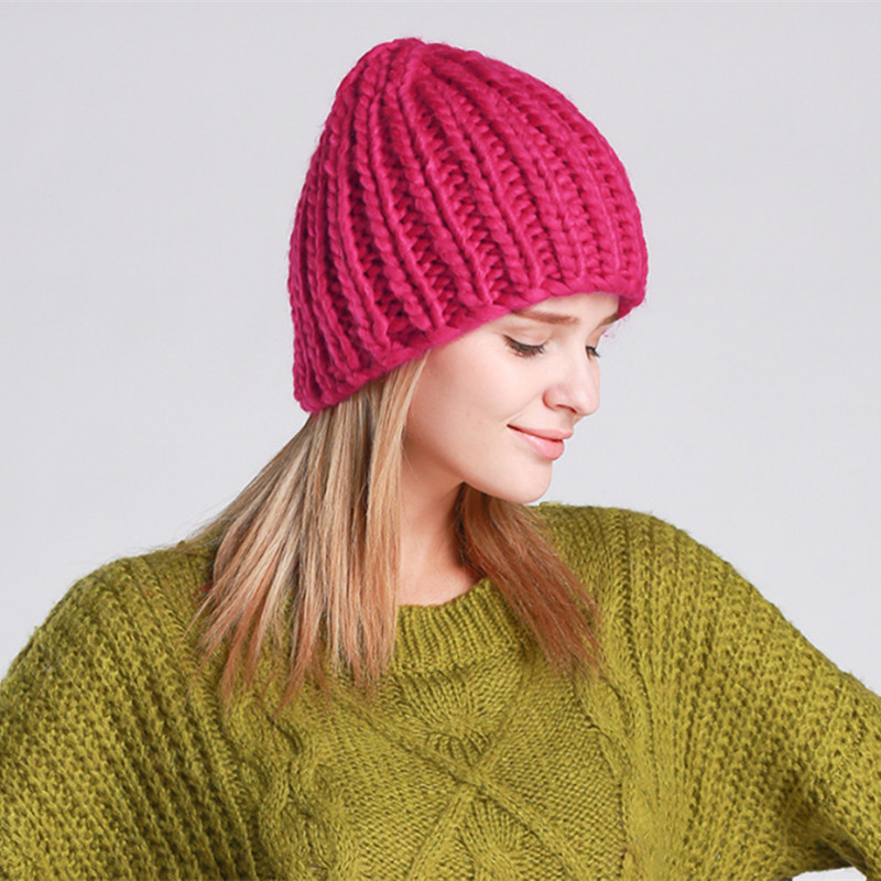 Taomi Gans Winter Autumn Knitted Wool Beanies Casual Warm Hat Female Knitted Skulies Beanies hat for Women's  dr gans мойка кухоннаяdr gans tekno 650 терра