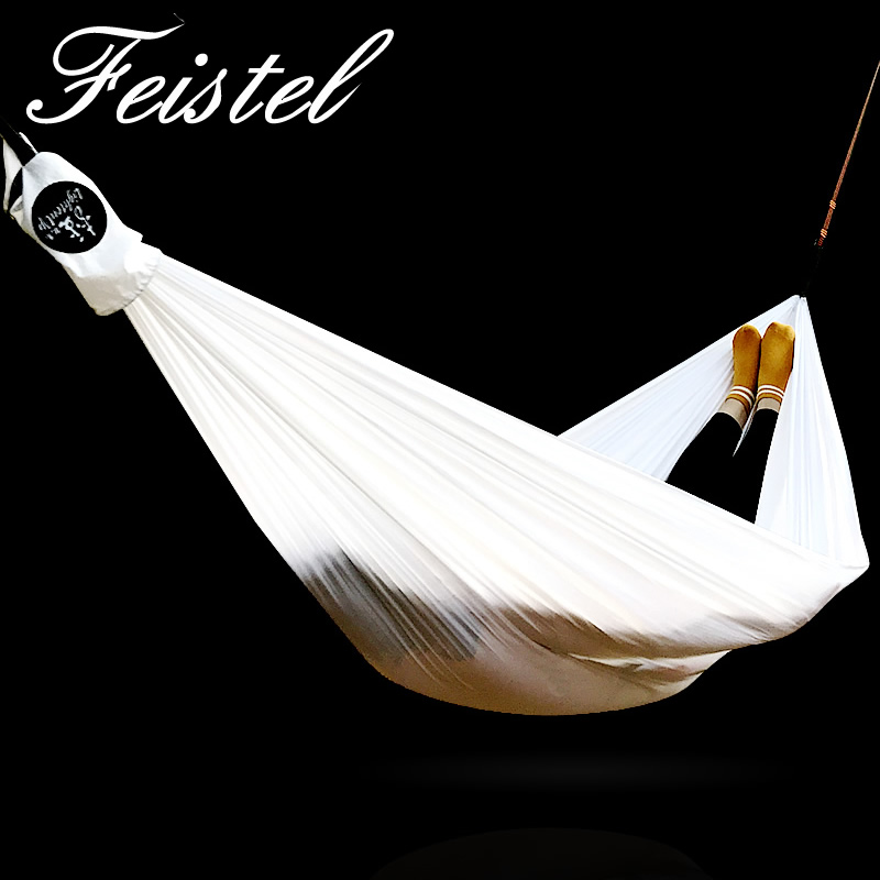 Hammock Outdoor Ultralight Parachute Hammock Hunting Mosquito Net Double Person Drop-shipping Outdoor Furniture Hammock White