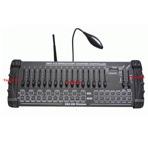 Image 2 - 2020 Быстрая доставка 1 шт./лот DMX 200 беспроводной контроллер DMX 512 DJ DMX консоль оборудование для сцены вечерние свадебные события освещение
