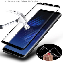 MPCQC for Samsung Galaxy S8 2.5D 9H HD tempered full cowl tempered glass For Samsung Galaxy S8 PLUS display screen protector glass Movie