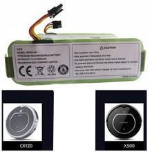 все цены на 3pcs x 14.4V 3500mAh NI-MH Rechargeable Vacuum Cleaner Battery for Ecovacs CR120 Dibea Panda X500 X580 Kk8 Haier Sweeping Robot онлайн