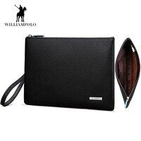 2017 Multi Functional Fashion Genuine Leather Simple Design IPad Holder IPad Case Clutch Wallet Bag Handbags