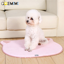 New Arrival Dog Puppy Summer Mat Breathable Solid Color Pet Cooling Bed Blanket for Cat Small Products