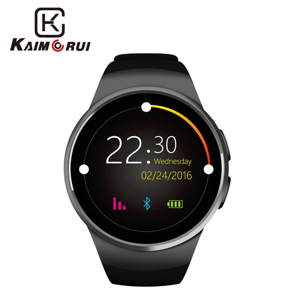 GFT kw18 смарт часы sim 1.3 дюймов круглый смарт-часы sim + TF поддержка карт лучше, чем gv18 умный часы gt08 gt08 gv18