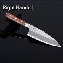 18,21cm Bunka Deba Knife sheath German 1.4116 Steel Blade Single Bevel Right Edge Japanese style PRO Butcher Knife 14G