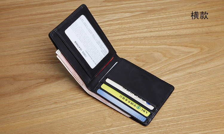 LANSPACE carteras de cuero para hombres Bolso de marca original con - Monederos y carteras - foto 5