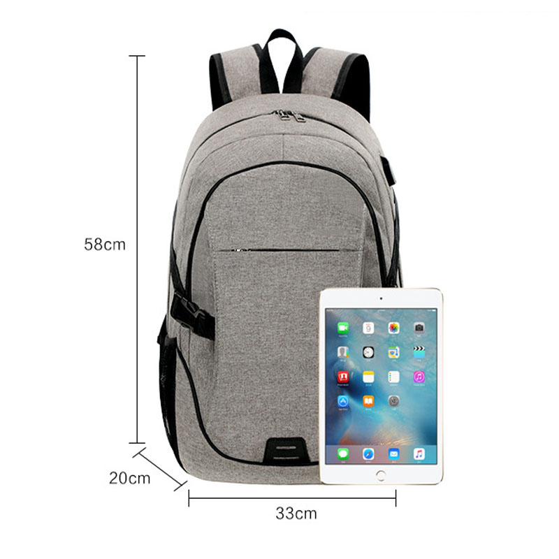 USB Charge Anti Theft Backpack Men Women Travel Security Waterproof School Bags Mochila Male 15inch Laptop Backpack School Bags