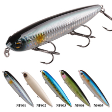 Smart Pencil Bait Hard Fishing Lures 12.5cm/27.8g 3D Eyes Wobbler Topwater Saltwater Isca Artificial Hard Baits Fly Fishing Tool