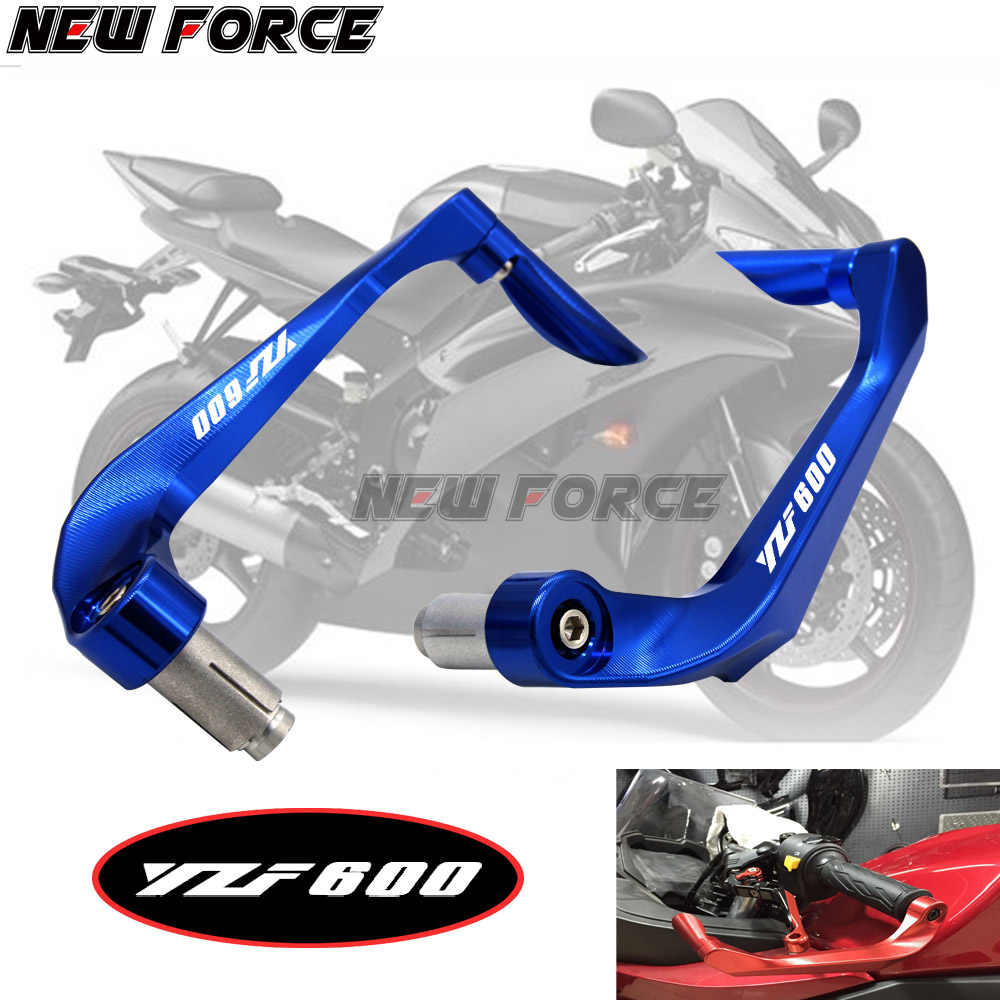 "Universal 7/8"" 22mm Motorcycle Handlebar Brake Clutch Levers Protector Guard For Yamaha YZF600 R6 YZF 600 1999 2000 2001 2002"