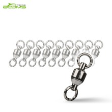 Booms Fishing BB2 Ball Bearing Swivel with Double Welded Rings