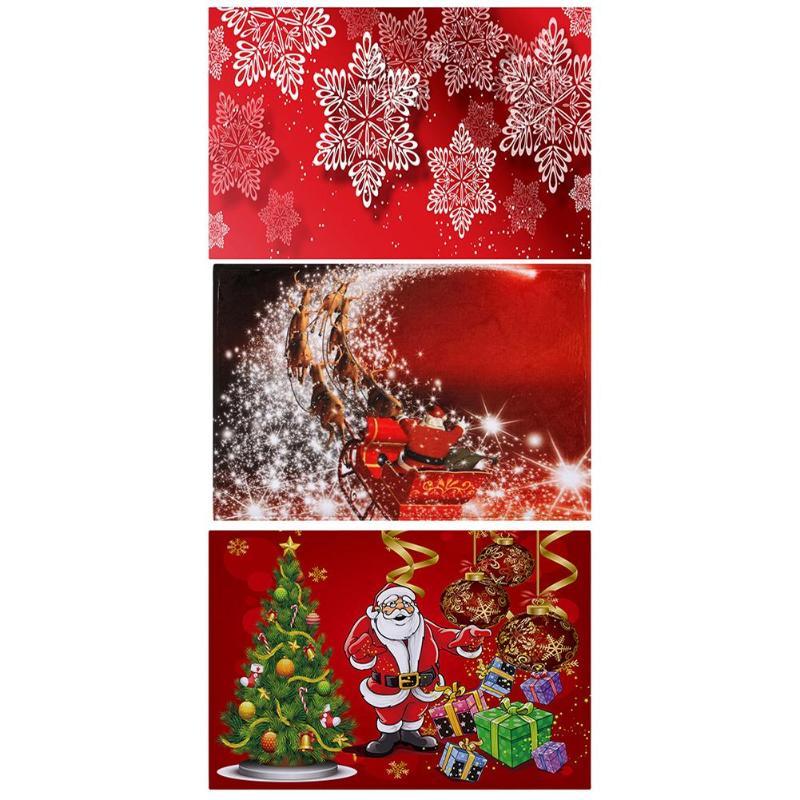 Merry Christmas Door Mat Santa Claus Outdoor Carpet ...