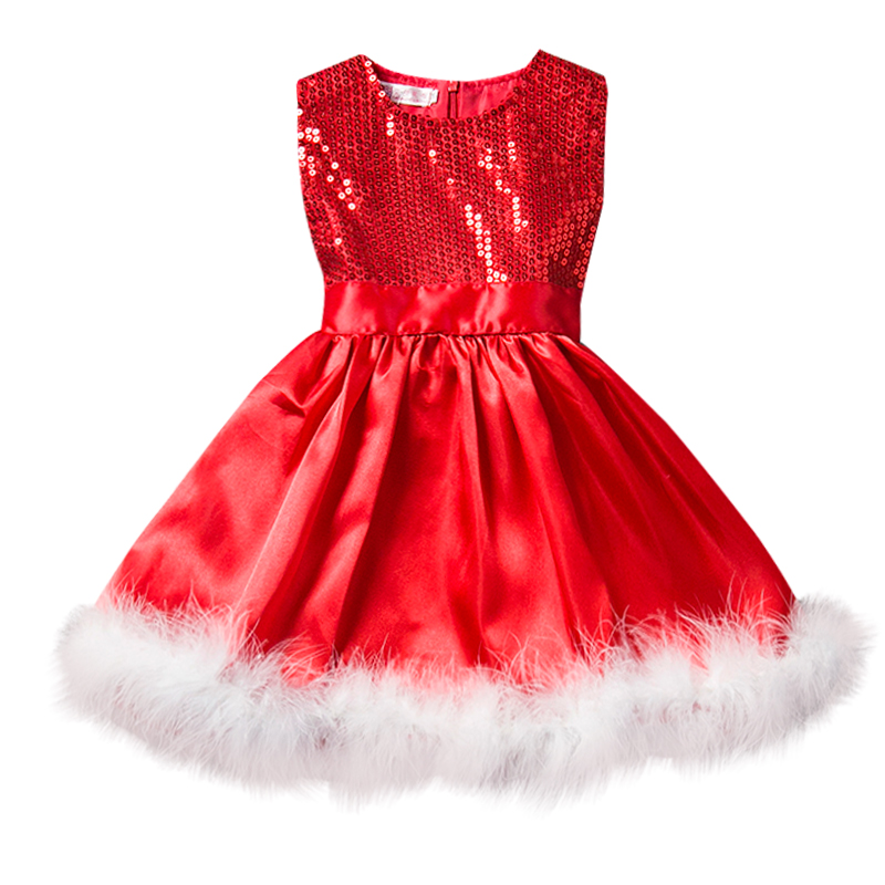 Red Baby Girl Dress Princess Christmas Dresses For Girl Events Party Wear Tutu Kids Carnival Costume Girls Children Clothing футболка print bar magic forest