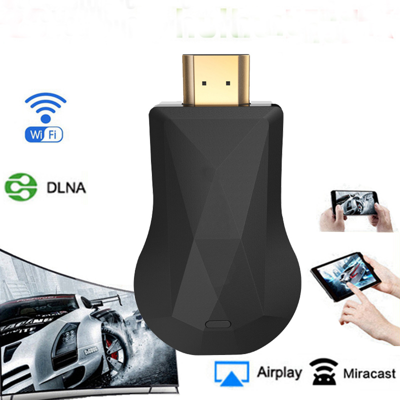 Hot HDMI WiFi Display Dongle AirPlay Miracast TV Stick for Chromecast 2 3 Chrome Crome Cast Cromecast 2