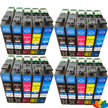 20 X Compatible ink cartridge T200XL for Epson XP100 XP400 XP200 XP300 WF 2530 2540 Workforce 2510 Printer T2001XL - T2004XL origial print head printhead for epson xp100 xp101 xp102 xp200 xp201 xp202 me500 me535 me560 tx420 tx430 nx420 sx445 sx430w