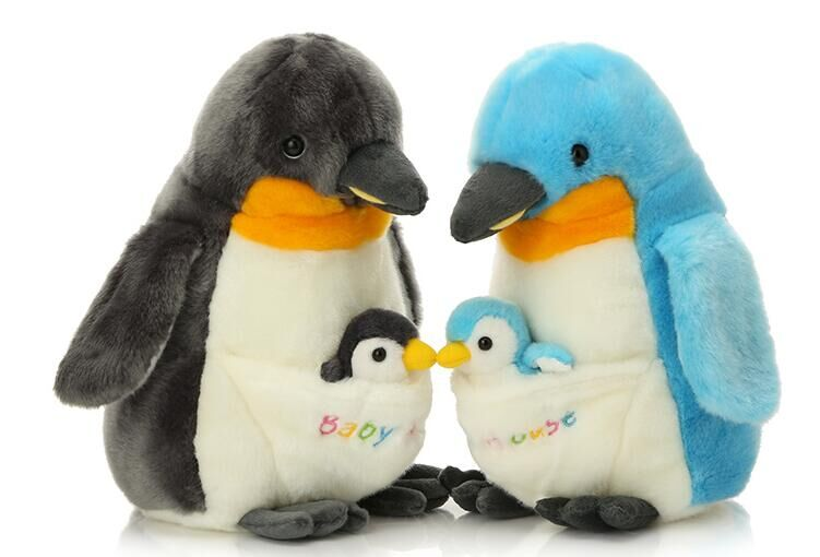 high quality goods about 30cm lovely penguin plush toy with baby ,Christmas gift h2978 mcd200 16io1 [west] quality goods