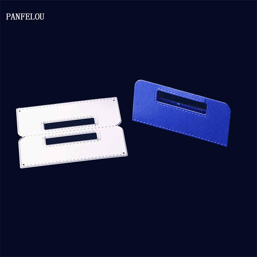 PANFELOU métal artisanat boîte à documents papier matrices de découpe pour Scrapbooking/bricolage cartes de mariage de noël compte à la main
