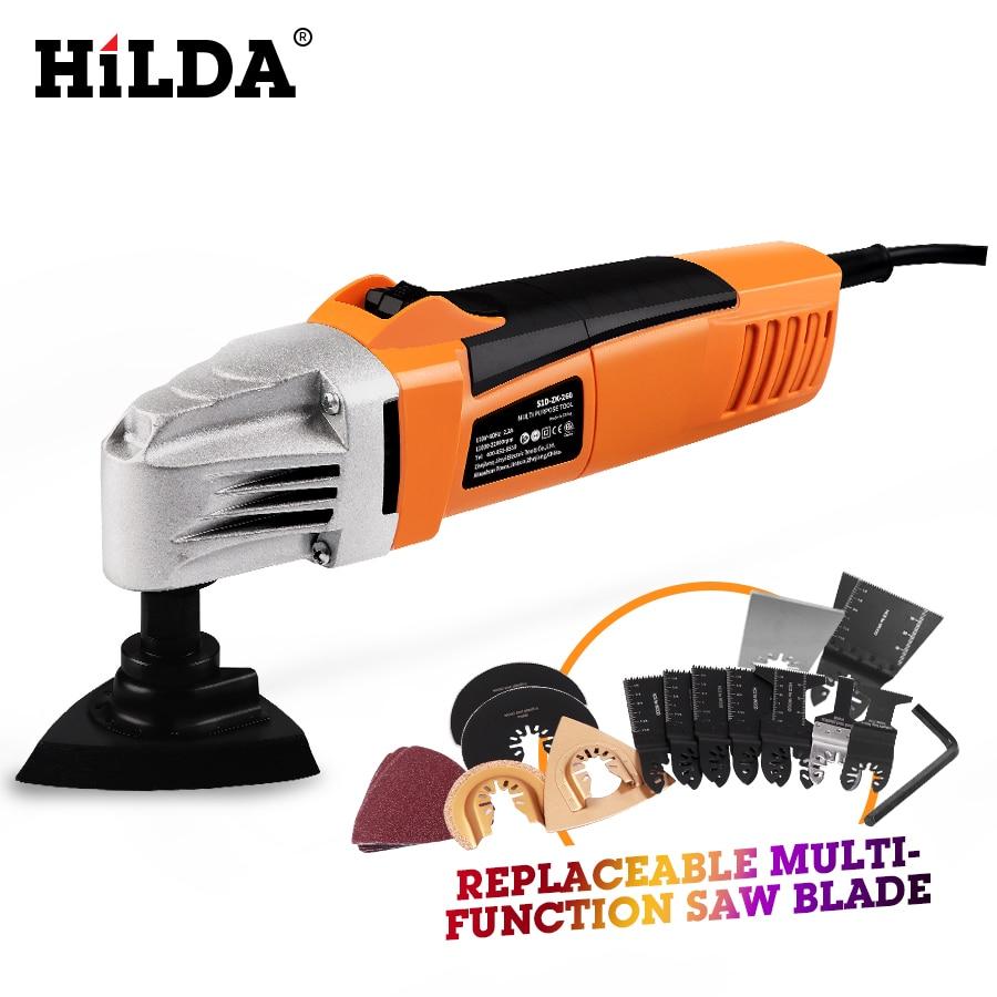 HILDA Renovator Multi Tools Electric Multifunction Oscillating Tool Kit Multi Tool Power Tool Electric Trimmer Saw