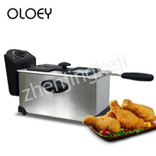 Electric Fryer 3L Adjustable Temperature No Lampblack Detachable Non-stick Pan Large Size Constant Temperature Household The New 1100w 3l non stick multifunctional electric household hot pot electric cooker heat pan fryer chafing dish suits 3 4 people