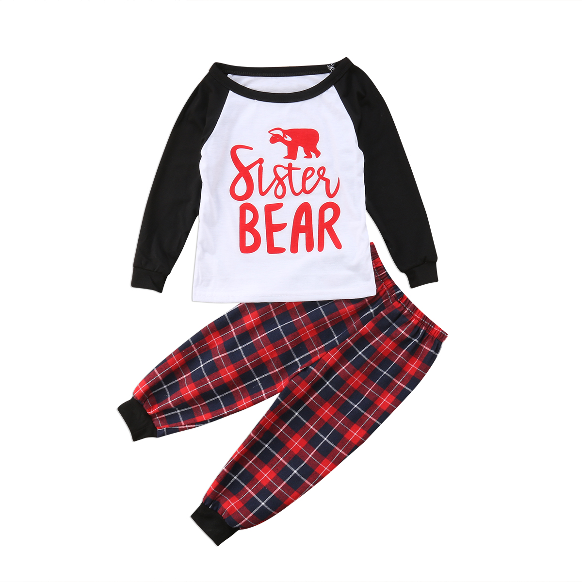 41170a141916 Family Matching Outfits Christmas Pajamas Set Fathser Mother Baby ...