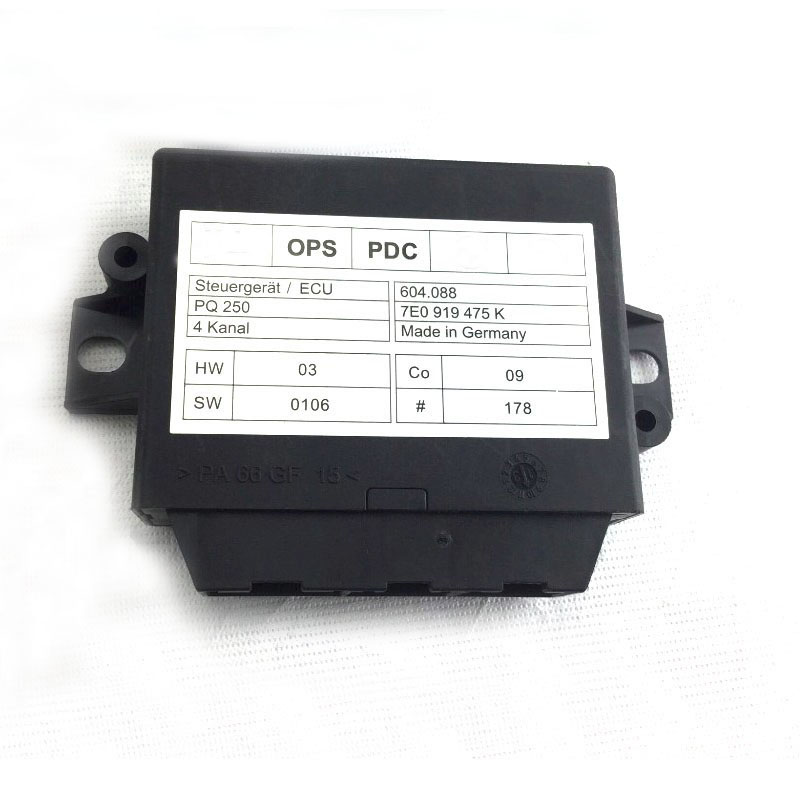 Park Pilot Front and Rear 8K Sensor With OPS Fit For 6R Polo NEW Beetle PQ25 Park Pilot Kit with OPS 7E0 919 475 K