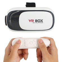 VR Devices Vr Box ii 2.0 3D Virtual Reality Cheap Headset Video Movie Game Glasses For 3.5″ to 6″ IOS Android Smartphones