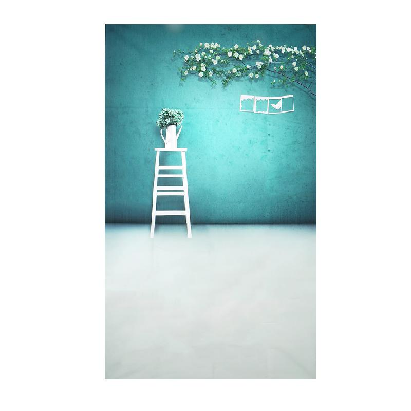 Flower Ladder Photography Backgrounds Vinyl Studio Photo Backdrop Props 3x5ft shanny autumn backdrop vinyl photography backdrop prop custom studio backgrounds njy33