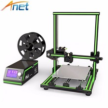 High Speed 3D Printer Reprap Prusa i3 Large Desktop Anet 3D Printers Rapid Prototyping Printing Machine with Cura Software цена