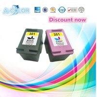 For HP 301 XL Black Tri Colour Ink Cartridge For HP301 Deskjet 1050 1050se 1050A 2050A