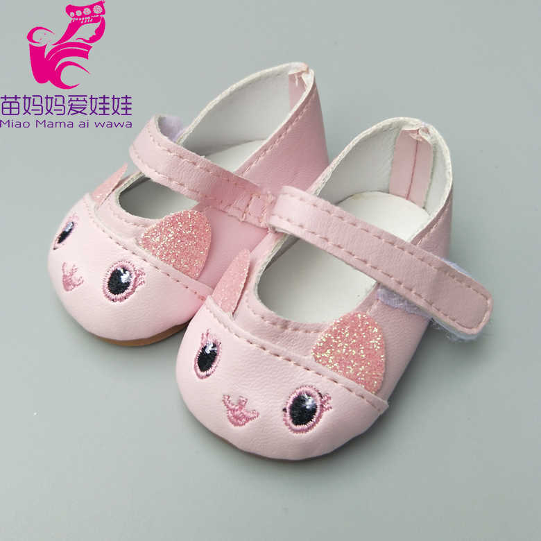 6751ca25cf050 ... Doll Shoes for 43cm Newborn Baby Dolls Shoes for Reborn Bebe Doll Shoes  18 Inch Girl ...