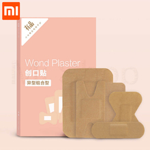 Xiaomi Miaomiaoce Band Aid 20pcs/lot Different Size Hypoallergenic Non-woven Medical Adhesive Wound Band aid Bandage First Aid цена